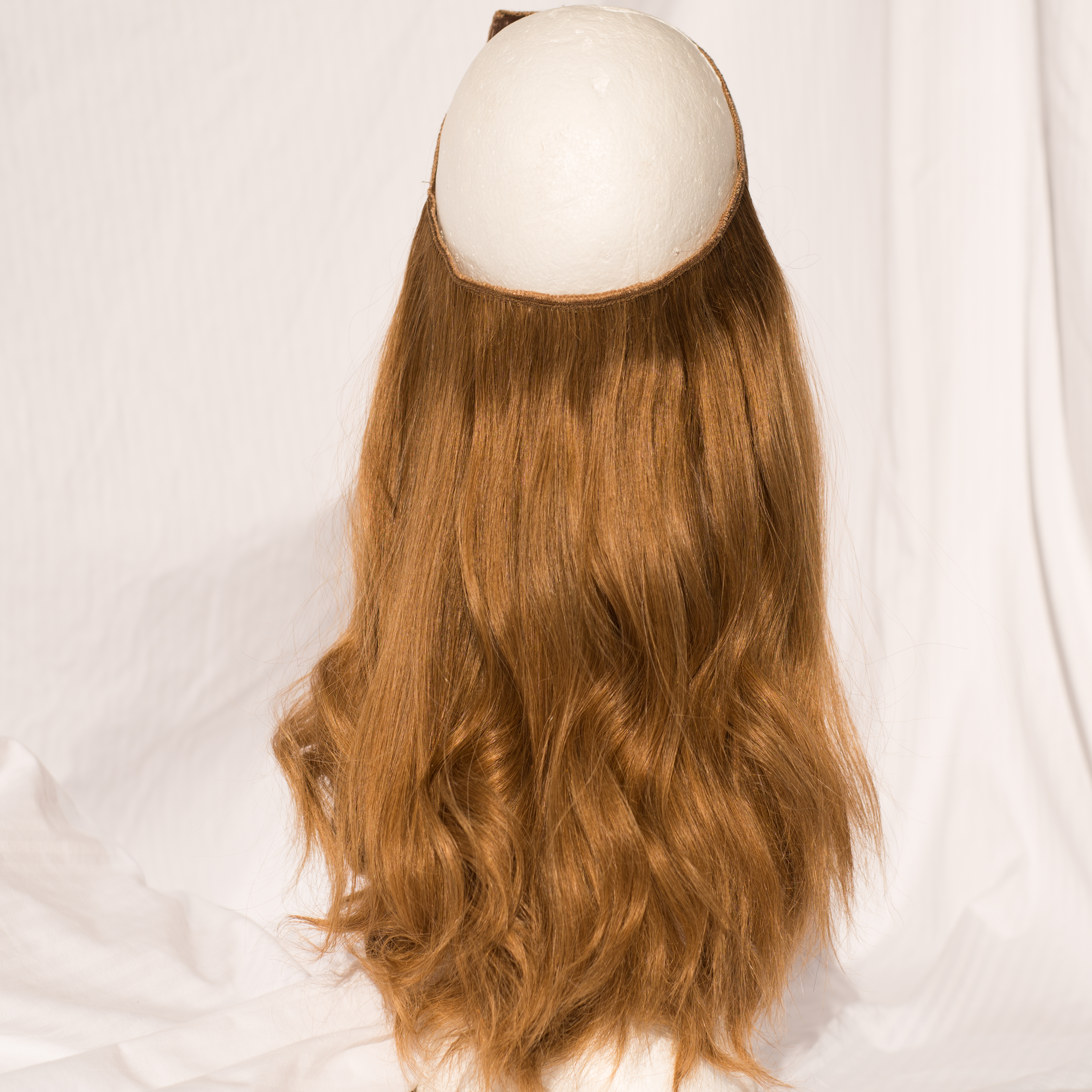 Hat Fall Russian Virgin Remy Hair Length 1624 Color 2224 Wig