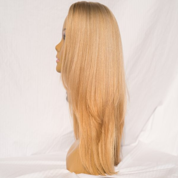 WIG RUSSIAN VIRGIN REMY HAIR 23 INCHES COLOR 22/24, WIGS, TOPPERS, FALLS, PONY TAILS, HALOS, HAIR EXTENSIONS, HAT FALLS, BAND FALLS, 100% VIRGIN REMY CUTICLE INTACT HAIR, PROCESSED HAIR, RUSSIAN HAIR, SOUTHERN RUSSIAN HAIR, BRAZILIAN HAIR, SOUTH AMERICAN HAIR, ASIAN HAIR, MALAYSIAN HAIR, EUROPEAN HAIR, CAMBODIAN HAIR. DEPENDING ON THE CATEGORY THE HAIR IS 100% VIRGIN REMY CUTICLE INTACT HAIR OR PROCESSED HAIR, BRANDNAMEWIGCLOSEOUTS.COM, WIGOVERRUNS.COM