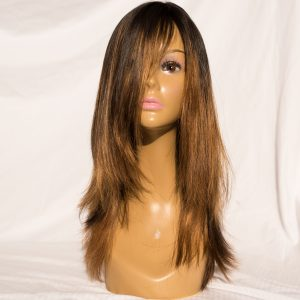 "WIG-EUROPEAN LENGTH 22"" COLOR CUSTOM 2 OMBRE COLOR 32"