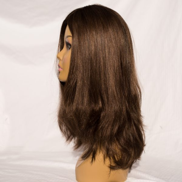 "WIG-EUROPEAN LENGTH 2O"", COLOR 6."