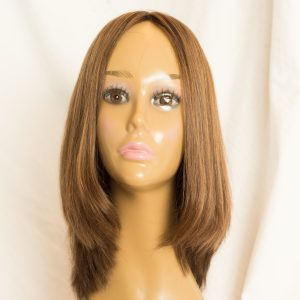 "WIG-EUROPEAN LENGTH 16"" SHORTEST LAYER 12"" COLOR 30-6-86 BACK"