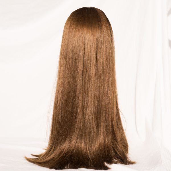 "WIG- EUROPEAN REMY LENGTH 24"" COLOR 8"