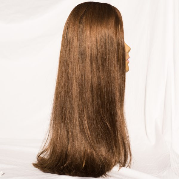 "WIG- EUROPEAN REMY LENGTH 24"" COLOR 8,"