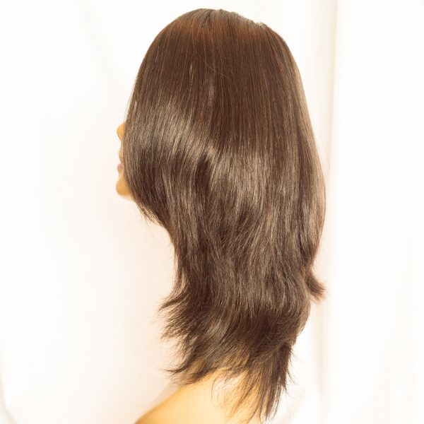 "WIG-EUROPEAN VIRGIN LENGTH 16"" COLOR 2 RIGHT SIDE, WIG-EUROPEAN CUTICLE INTACT REMY VIRGIN LENGTH 16"" COLOR 2"