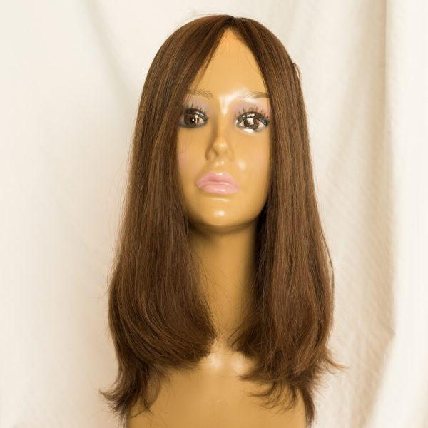 WIG RUSSIAN VIRGIN LENGTH 17 COLOR8-10, WIG-RUSSIAN VIRGIN CUTICLE INTACT REMY HAIR LENGTH 17 COLOR 8-10 FRONT