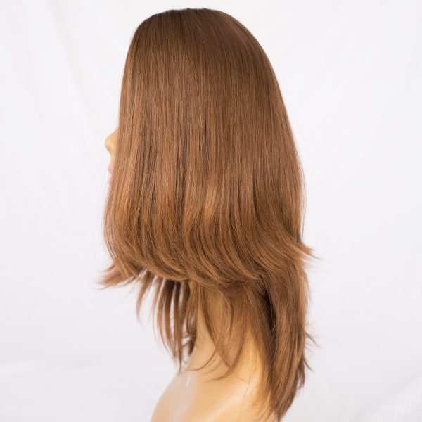 """WIG-RUSSIAN VIRGIN REMY LENGTH 18"""" COLOR 10"""